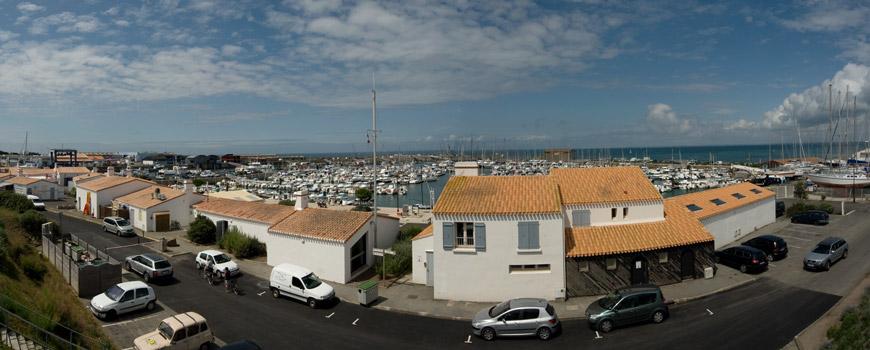 Hafen von Herbaudière