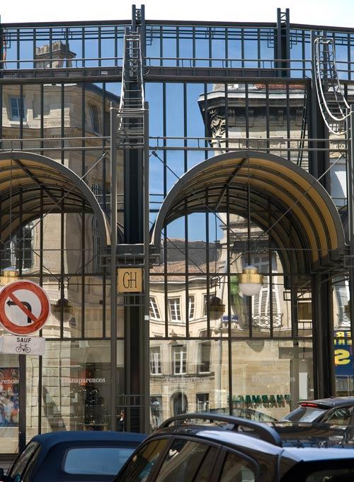 Marché des grands hommes, Bordeaux