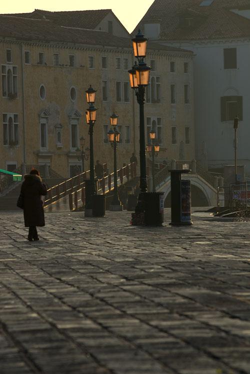 Einsam und ruhig, Venedig