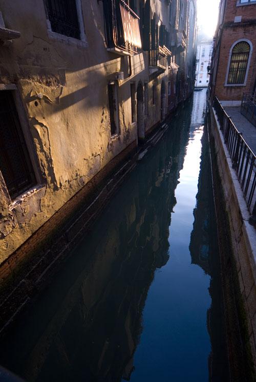 Zerfall, Venedig