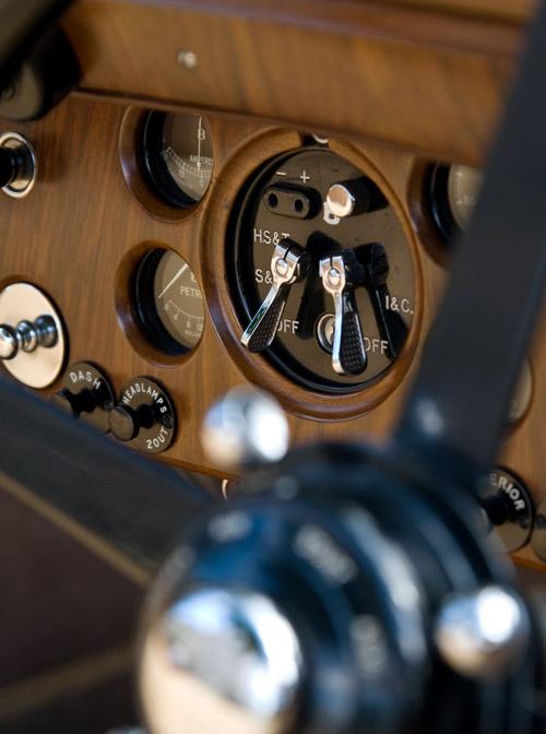 Bentley-Armaturenbrett